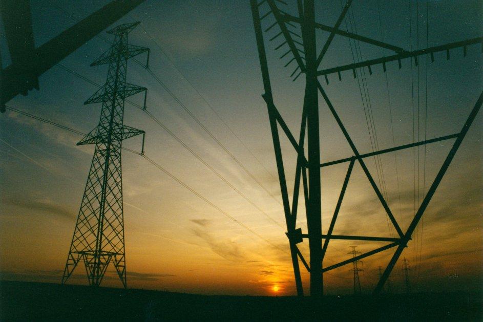 Belgium pylons Aug 1993