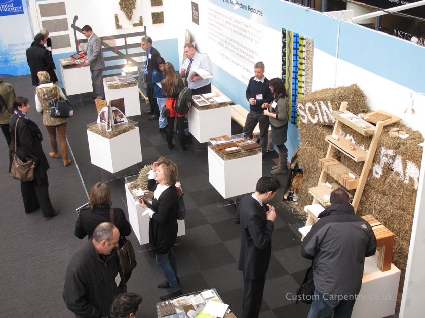 SCIN stand at the Surface Design Show in London