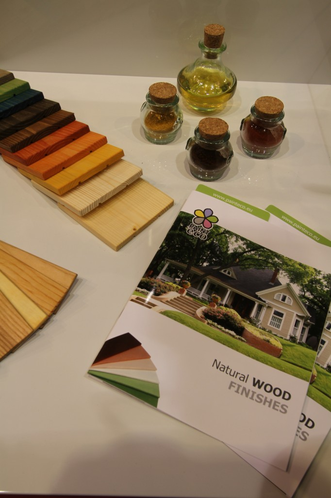 Samples and catalogue of Paint Eco