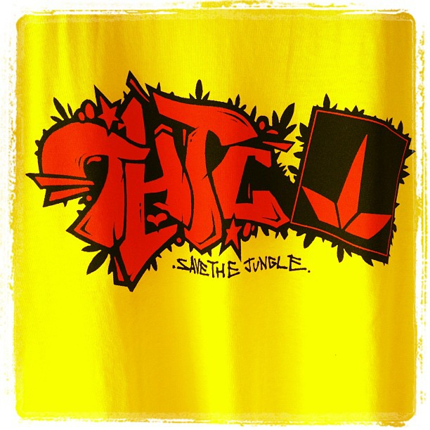 THTC t-shirt save the Jungle