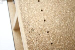 Strawboard furniture