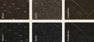 Some of the Rystone surfaces available.