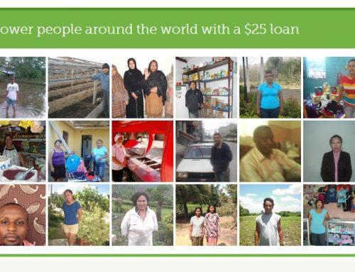 Kiva, a refreshing way to finance the World.