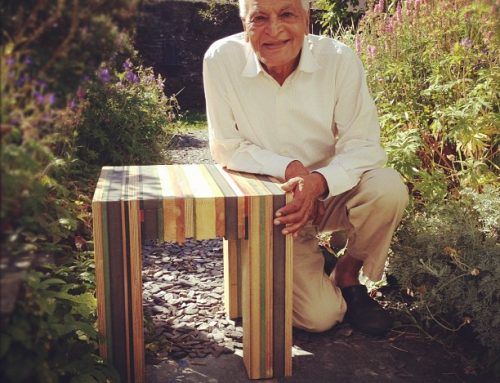 Milo with Satish Kumar