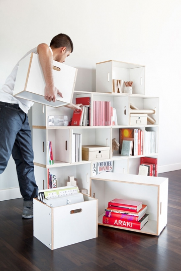 Eco sustainable modular furniture